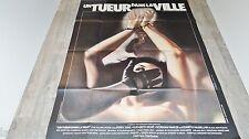 UN TUEUR DANS LA VILLE  !  affiche cinema