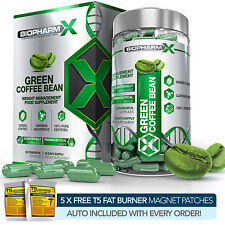 GREEN COFFEE BEAN EXTRACT - NATURAL FAT BURNER / SLIMMING / DIET / DETOX PILLS