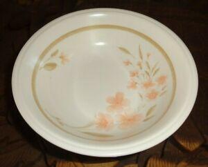 Staffordshire Biltons Dessert Bowl Peach Flowers MAYFAIR Pattern