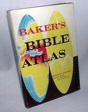 Charles Pfeiffer Baker's Bible Maps Atlas Gospel Holy Land Israel Geography HBDJ