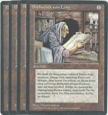 TCG MtG 20 FBB Deutsch Limitiert 3rd Bibliothek von Leng / Library of Leng Plays