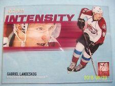 "2012-13 Panini Elite ""Intensity"" Insert # I-25 Gabriel Landeskog!  417/500"