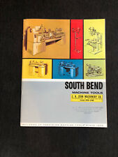 New Listing1967 South Bend Lathe Catalog