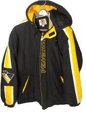 Starter Full Zip Jacket Pittsburgh Penguins NHL Center Ice Size 4XL Vintage 90's
