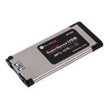 Silverstone Ultra Slim USB3.0 Express Card Adapter,EC02