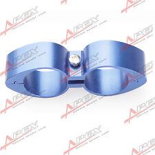 -4AN AN4 ID 11.32mm Billet Fuel Blue Hose Separator Fittings Adapter