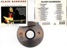 "ALAIN BARRIERE ""Collection Vol.2"" (CD) 16 Titres 1992"