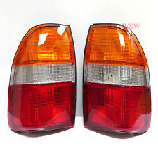2 x TAIL LIGHTS REAR LAMP MITSUBISHI TRITON 1995 - 2004 1996 1997 1998 2000 2001