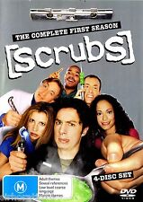 [SCRUBS] Complete First Season 4 Disc DVD Set  R4