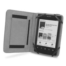 Cover-Up Sony PRS-T1 / T2 Reader Book Grip Leather Cover Case - Black