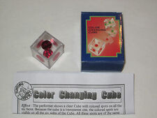 Color Changing Cube Magic Trick - Pocket, Close-Up, Walk-Around & Table Hopping