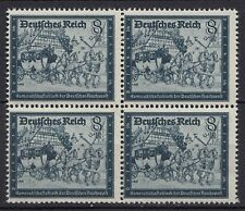 Germany Third Reich Old stagecoach 1944 Block of 4 Michel 889 MNH   (19916