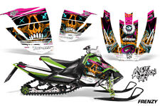 Arctic Cat Sno Pro Race Sled Wrap Snowmobile Decal Graphic Kit 08-11 FRENZY ORNG