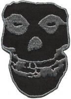 OFFICIAL LICENSED - MISFITS - BLACK SKULL SEW ON BACK PATCH METAL PUNK DANZIG