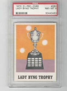 1970 OPC O-Pee-Chee PSA 8 NM-MT # 260 Lady Byng Trophy