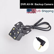 Car Backup Cam 2.5mm AV-IN for Auto Dash Camera DVR Camcorder Black Box GPS Tab