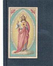 Heiligenbild Herz-Jesu, Holy-Card, Santino   (HB2)