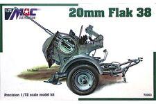MAC DISTRIBUTION 72063 1/72 20 mm Flak 38