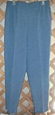 JUST FOR WOMEN PANTS~Federal Blue~Elastic Waist~Side Pockets~Miss Plus Size 16W