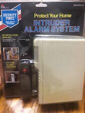 Security Force Intruder Alarm System 1988 VNTG Infra-Red Sensor Home Protection