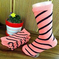 5Pairs Women Socks Lot Classic Cotton Stripes Socks 20*20cm CH102