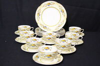 22pc Vintage Johnson Bros Brothers ACTON Pareek Plates, Cup, Saucer Set, England