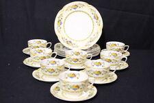 22pc Vintage Johnson Bros Brothers ACTON Pareek Plates, Cup, Saucer Set, England