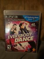 Everybody Dance Playstation Move REQUIRED PS3 PERFECT DISC NO SCRATCHES