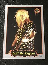 Duff McKagan Guns N Roses 1997 Argentina International Rock Cards Sticker Real