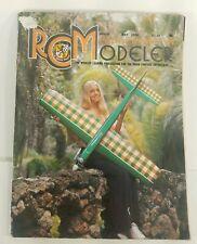 Vintage RC Modeler Magazine May 1976 Volume 13 Number 5.