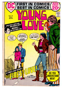 YOUNG LOVE #97 in VG/FN condition a 1972 Bronze Age DC comic