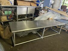 Commercial Heavy Duty 8 Ft Stainless Steel Food Service Table