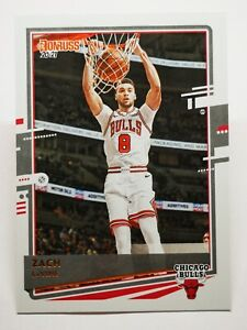 Panini Donruss 2020-21 N8 NBA Rated Rookie Zach LaVine Chicago Bulls #169