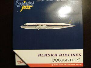 Gemini jets 1:400 Alaska Airlines Douglas Dc-6