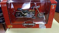 MAISTO HARLEY DAVIDSON 1998 SERIES 5 HERITAGE SOFTAIL EVOL MOTORCYCLE NEW IN BOX