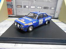 FORD Escort MKII RS2000 Rallye Monte Carlo 1981 #57 Loubet Publimm  Trofeu 1:43