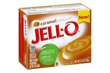 JELL-O Instant Pudding & Pie Filling Caramel, 3.4 Oz (BBD APRIL 18)