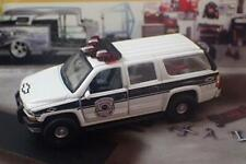 Fire & Rescue Chevrolet Suburban POLICE Vehicle 1/76 Scale Limited Edition J