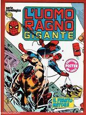 Comics L'UOMO RAGNO GIGANTE N. 46 - Editoriale Corno con manifesto