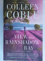 The View from Rainshadow Bay Lavender tides Coble colleen inglese autografo 808