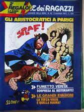 Corriere dei Ragazzi n°49 1973 Gli Aristocratici  [G419]