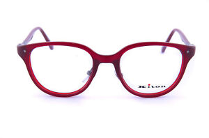 NWT KITON EYEGLASSES Virgiliano red cellulose acetate titanium luxury Italy