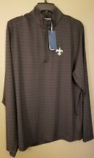 New Orleans Saints size large long sleeve pullover NWT... by Cutter & Buck $120