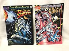Cosmic Powers Unlimited #1 & 2 Starring Silver Surfer Wraparound Cover Marvel