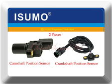 2 Pcs Camshaft & Crankshaft Position Sensor Fits:Mitsubishi Mirage 97-00 L4 1.8L