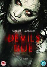 The Devil's Due [DVD] [2014] UK Region 2 Brand New Sealed - Zach Gilford