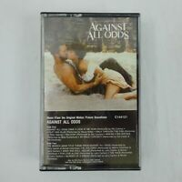 Against All Odds Soundtrack Cassette Various Artists