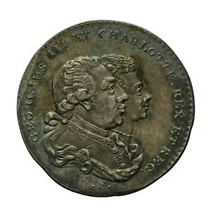 Middlesex Patrons of Virtue Farthing Token  D&H 1137  In Silver