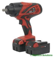 """Sealey Tools CP3005 18V 1/2"""" Drive Cordless Impact Wrench Gun with 2 Batteries"""
