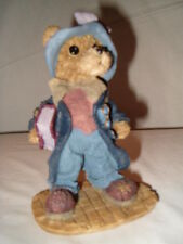 (3 items) Wallace Berrie & Co. Boy with Cap , K's Collections Fancy Bear + Kite